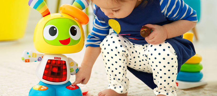 Choose toys to make children smarter