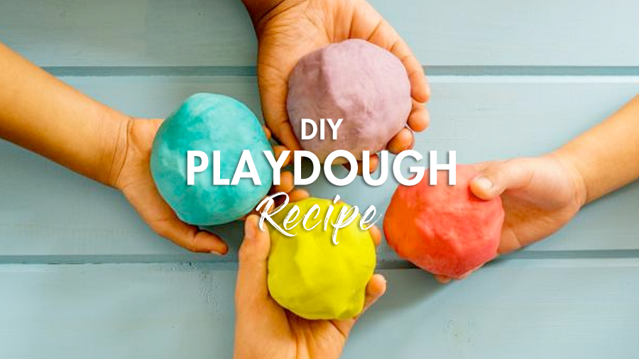 The best ever no-cook playdough recipe